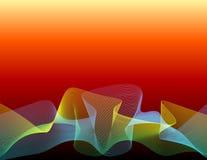 varm linje radwave Arkivfoton