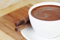 varm livstid för chokladkopp fortfarande Royaltyfri Fotografi