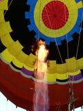 Varm luft Fotografering för Bildbyråer