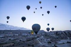 varm luftballon Arkivfoton