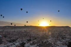 varm luftballon Royaltyfria Bilder