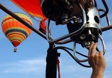 varm luftballon Arkivbild