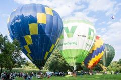 varm luftballongfestival Royaltyfria Foton