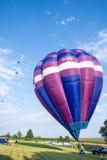 varm luftballongfestival Royaltyfria Bilder