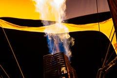 varm luftballonggasbrännare Royaltyfria Foton