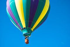varm luftballongkorg Arkivfoto