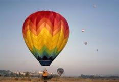 varm luftbaloon Arkivbilder