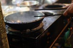 Varm matlagningkruka Arkivbild