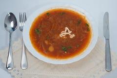 varm maträtt Royaltyfri Bild