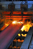 varm metall för cuttinggas Royaltyfri Fotografi