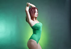 varm modell Royaltyfria Bilder