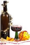 varm mulled ånga wine för jul Royaltyfri Bild
