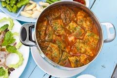 Varm och kryddig curry Royaltyfri Bild