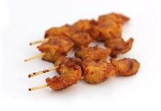 Varm och kryddig feg kebab Royaltyfri Foto