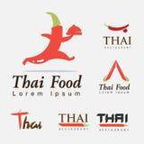 Varm och kryddig mat thai Royaltyfria Bilder
