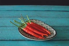 Varm paprika, paprika, asiatisk peppar, Chili Hot Pepper Royaltyfria Foton