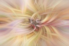 Varm pastell färgat abstrakt begrepp Begreppsmildhet Royaltyfri Foto