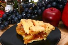 varm pie för äpple royaltyfria bilder