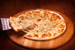 Varm pizza Arkivbilder