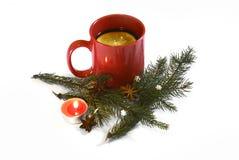 Varm röd funderad jul vin, November 14, 2014 Royaltyfria Foton