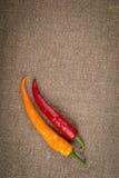 Varm röd peppar Arkivbild