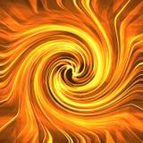 varm röd swirl Arkivfoton