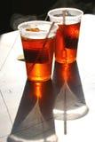 varm röd tea arkivbilder
