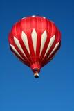 varm röd white för luftballong Royaltyfria Bilder