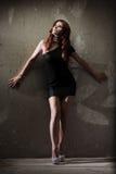 Varm redheadflicka fotografering för bildbyråer