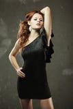 Varm redheadflicka Royaltyfria Bilder