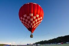 varm ritt för luftballong Royaltyfria Bilder