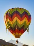 varm ritt för luftballong arkivbild