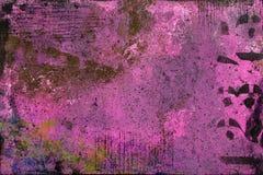 Varm rosa abstrakt bakgrund med målade lager arkivbilder