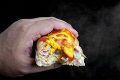 Varm smörgås Arkivfoto