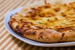 Varm smaklig brödkaka för mål Royaltyfri Foto