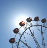 Varm sommardag på karnevalet Arkivbild