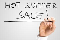 Varm sommarförsäljning Arkivbilder