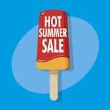 Varm sommarförsäljning Fotografering för Bildbyråer