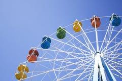 Varm sommarsolpariserhjul Royaltyfria Bilder