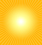 varm sommarsun royaltyfri illustrationer