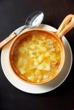 varm soup Royaltyfri Foto