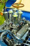 varm stång för motor Arkivfoto