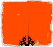varm tatuering för bg royaltyfri illustrationer