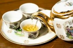 varm tea Fotografering för Bildbyråer
