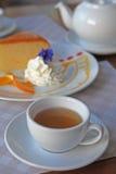 varm tea Arkivbilder