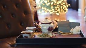 varm tea arkivfilmer