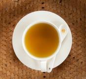 varm tea Arkivfoto