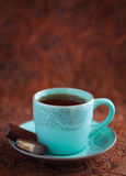 varm tea för kopp Arkivfoton