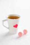 varm tea för kopp Royaltyfria Foton