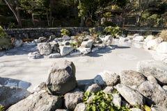 Varm vår Jigoku med att koka gyttja i vulkanisk pöl i Beppu, Japan arkivfoto